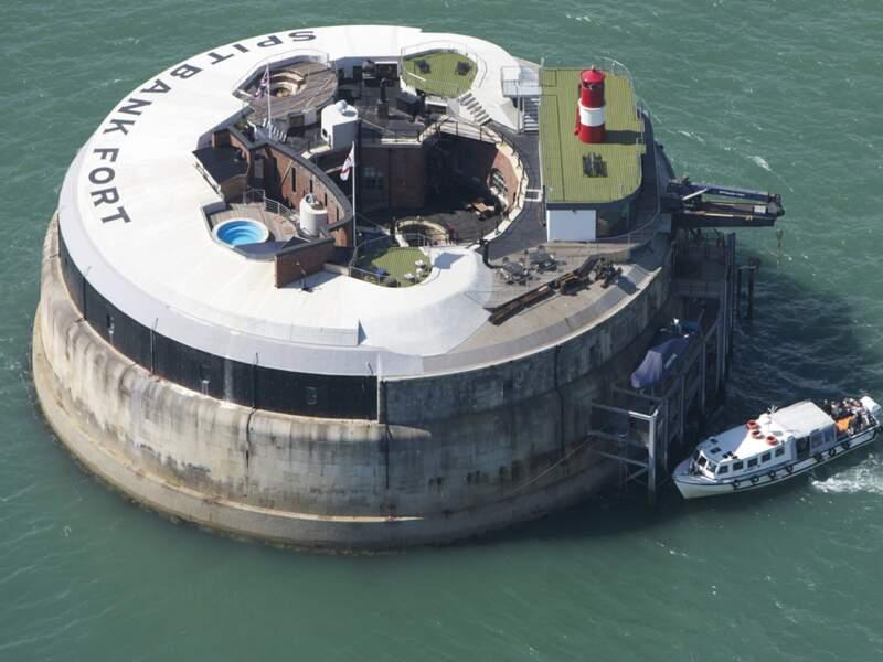 SPITBANK FORT,  le bunker sur l'eau