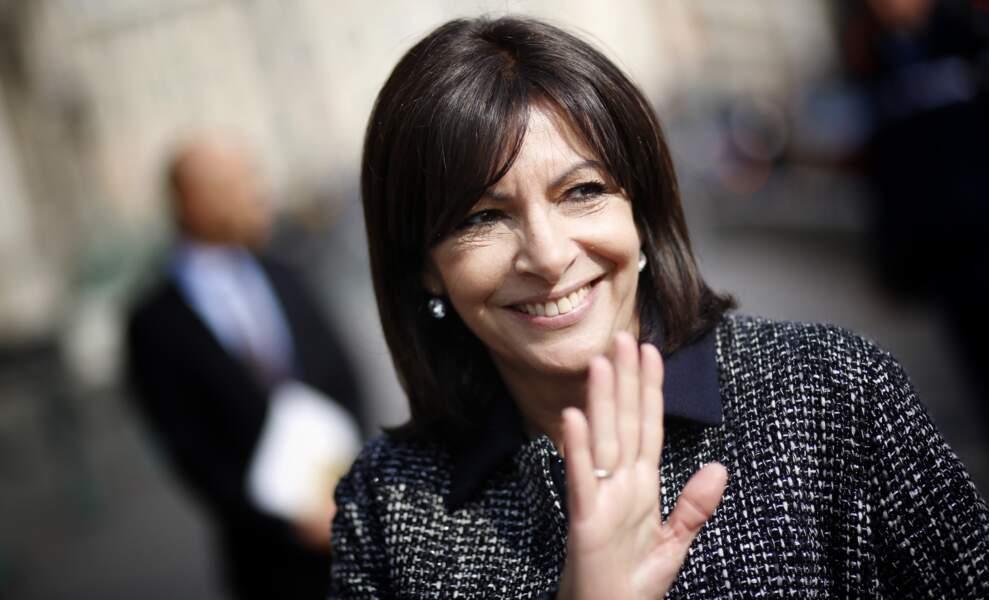 Anne Hidalgo, première femme Maire de Paris