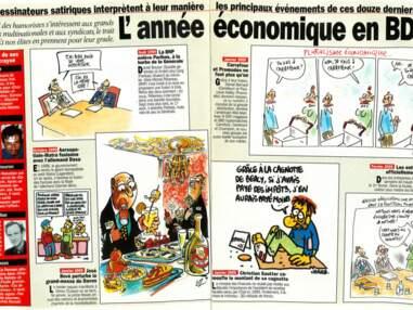 L'économie vue par les dessinateurs de Charlie Hebdo