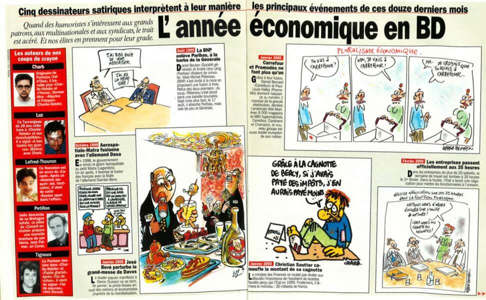 L'année économique en BD