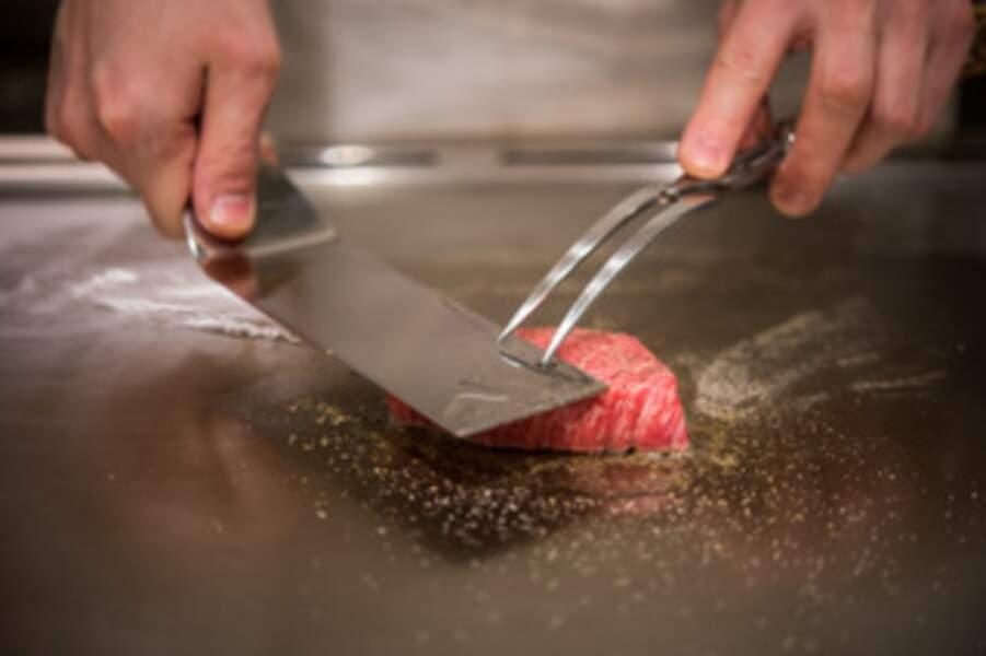 Teppanyaki Ginza Onodera, l'art nippon