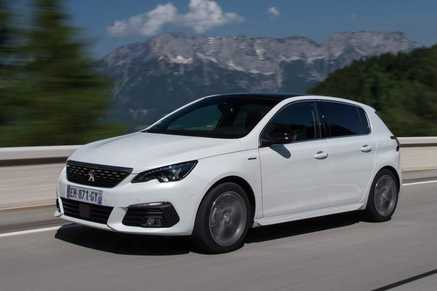 8 - Peugeot 308 (30.243 ventes)