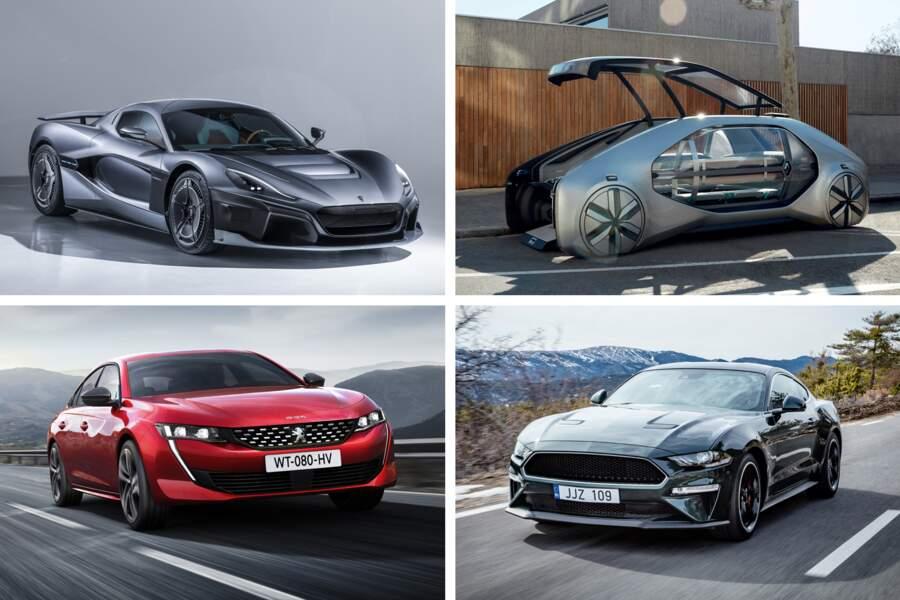Les 20 véhicules qui vont marquer le Salon de l'automobile de Genève 2018