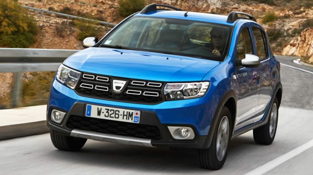 N°6 : Dacia Sandero