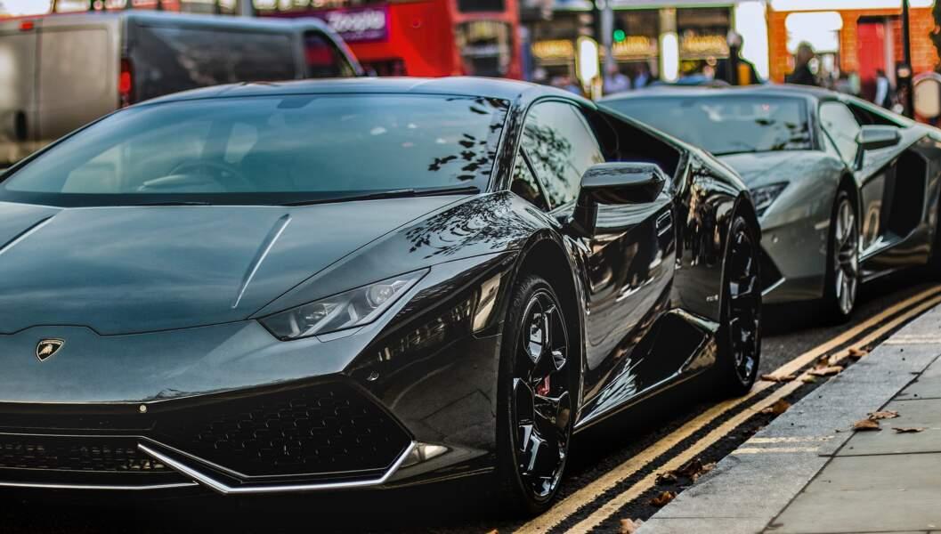 la Lamborghini Huracán d'Angel Di Maria