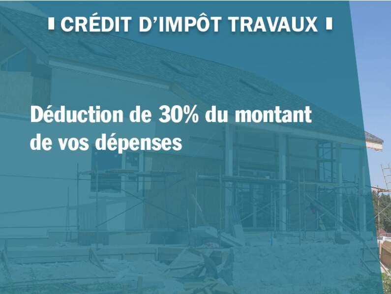 Crédit d'impôt travaux