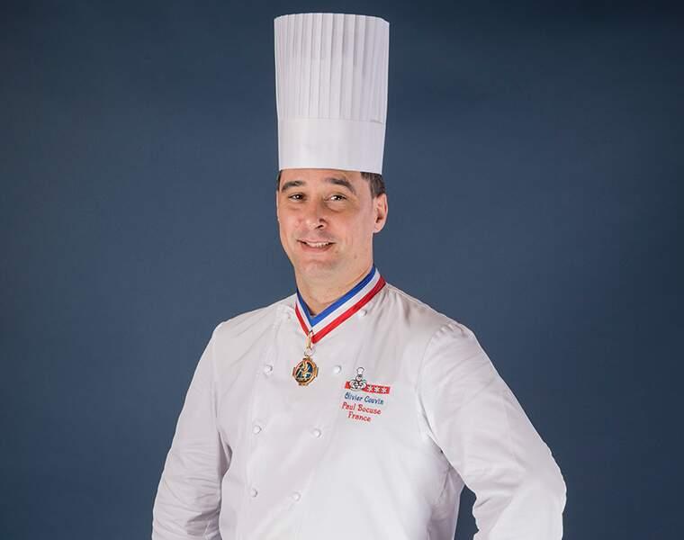 Olivier Couvin, cuisinier près le Lyon