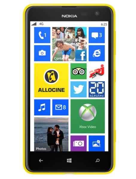 Le meilleur smartphone entrée de gamme : Nokia Lumia 625