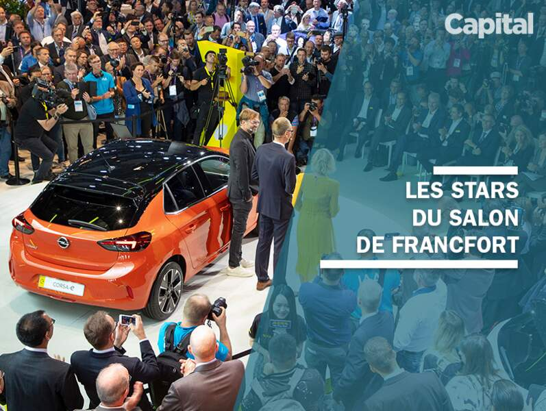 Les stars du salon de l'auto de Francfort 2019