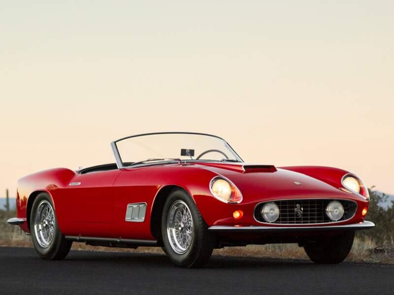 Ferrari 250 GT LWB California Spider de 1958 - 7,6 millions d'euros