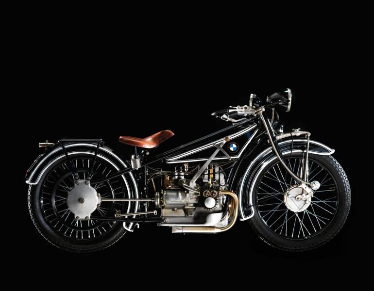BMW R 32 : le premier deux roues du constructeur munichois