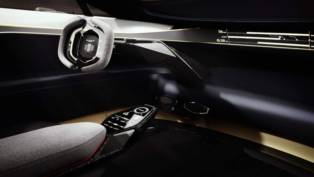 Aston Martin Lagonda Vision - Poste de pilotage