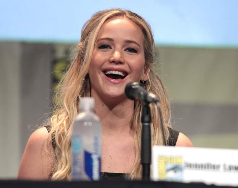 3è. Jennifer Lawrence : 20,5 millions d'euros