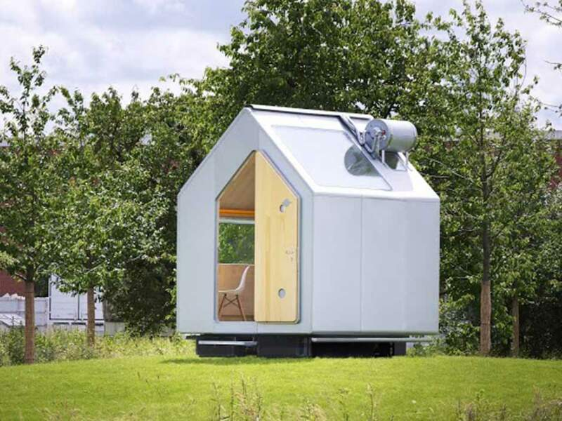 7,5m2 : La cabane Diogène, le rêve minimaliste d'un grand architecte