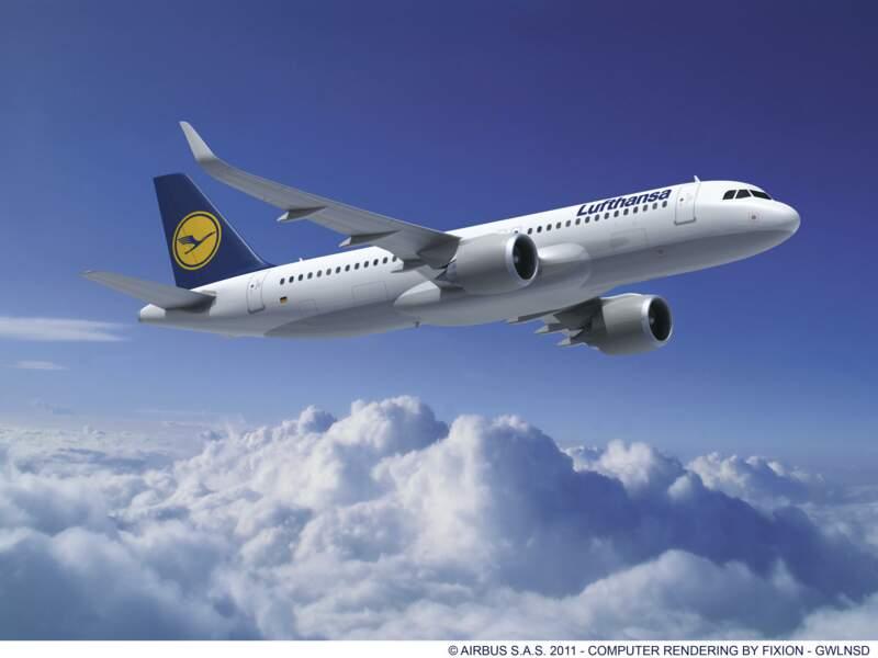 100 A320 pour Lufthansa