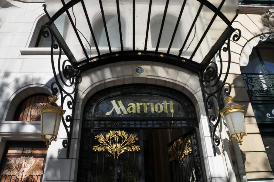 Hôtel Mariott des Champs Elysées