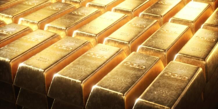 La montée des risques propulse l'or à un pic de 7 ans