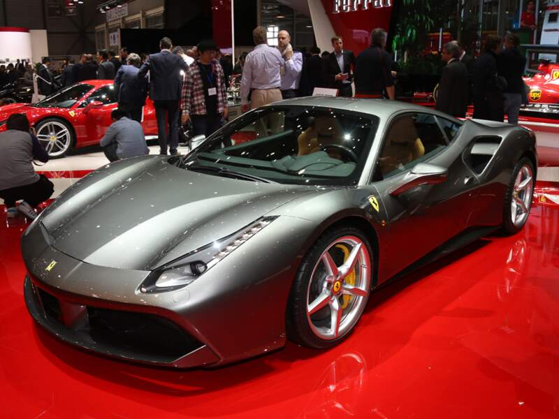 Ferrari 488 GTB : 100 km/h en 3 secondes chrono