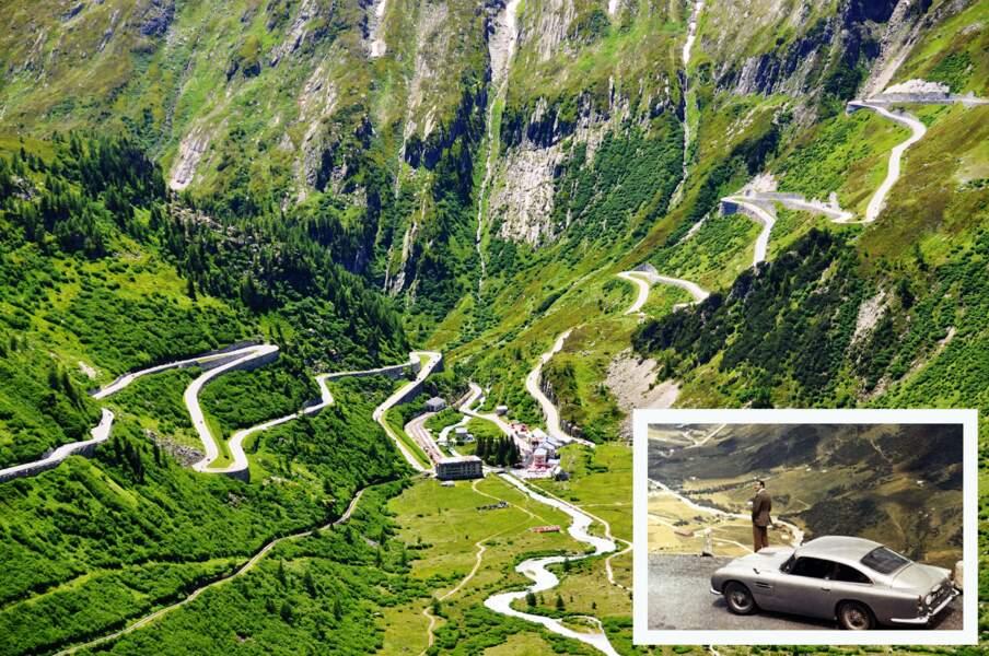 Le col de la Furka (Suisse)