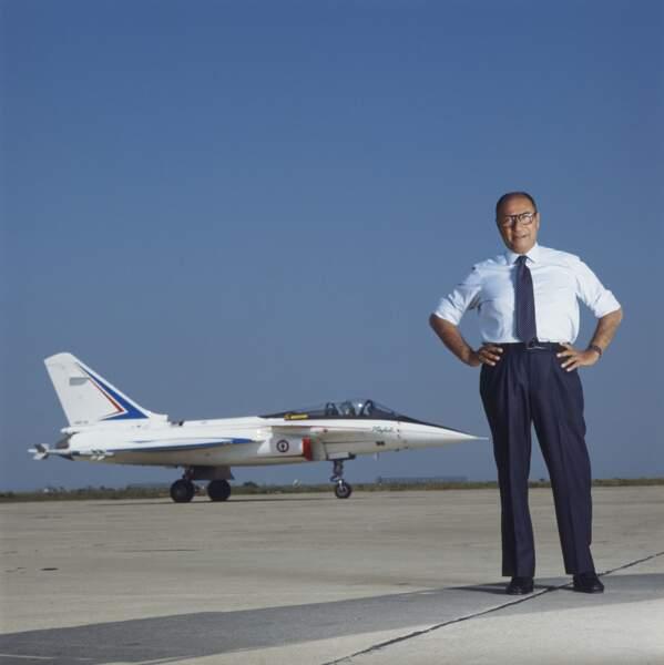 1987 : président à plus de 60 ans