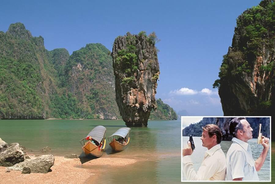 Les îles de Khao Phing Kan (Thaïlande)