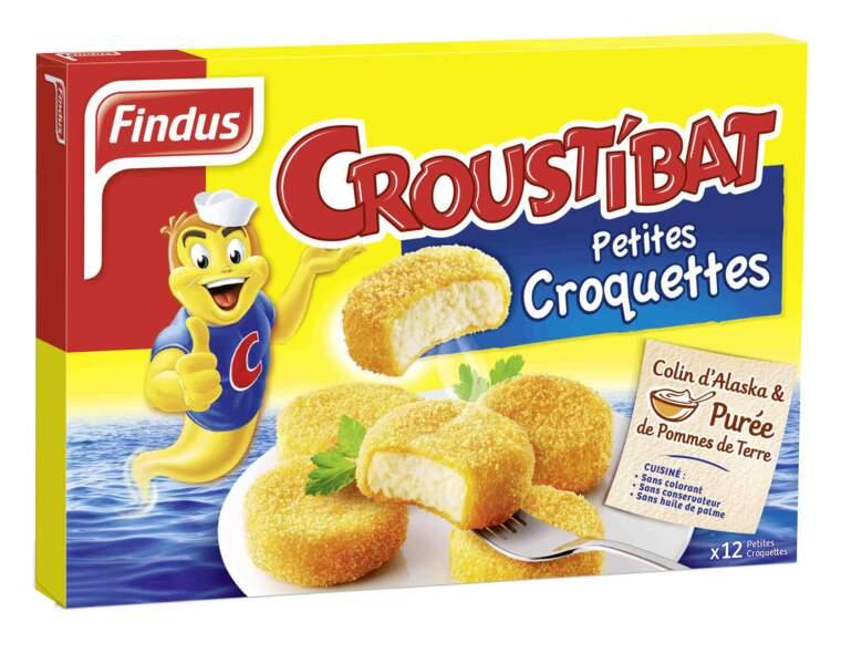 Petites croquettes Croustibat Findus