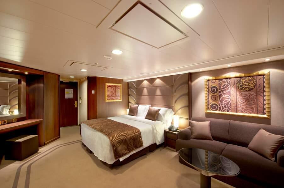 La suite Yacht Club, la plus grande et chère du paquebot