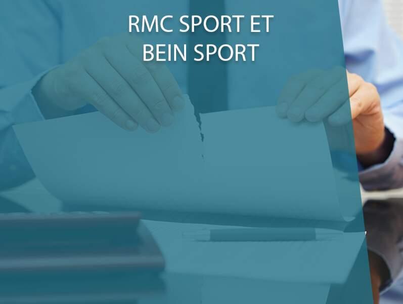 RMC Sport et beIN Sport
