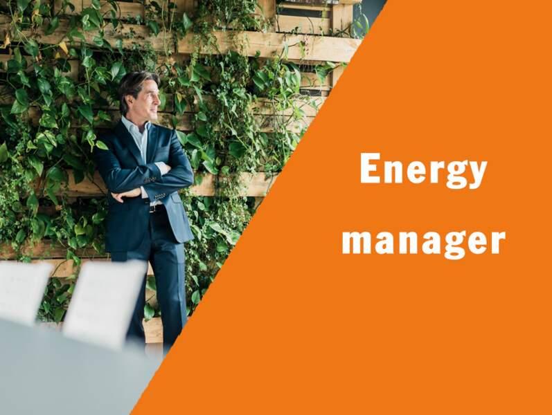 Energy manager - Il veille à l'efficacité énergétique