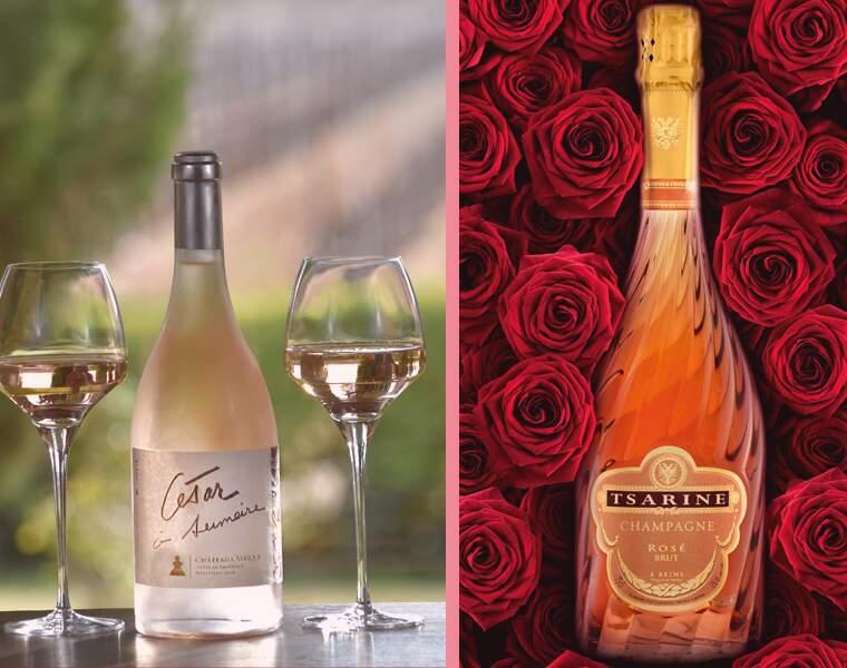 Les huit vins rosés médaillés d'or de l'International Wine Challenge