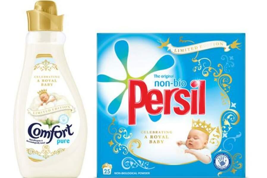 Paquet de lessive pour bébé royal