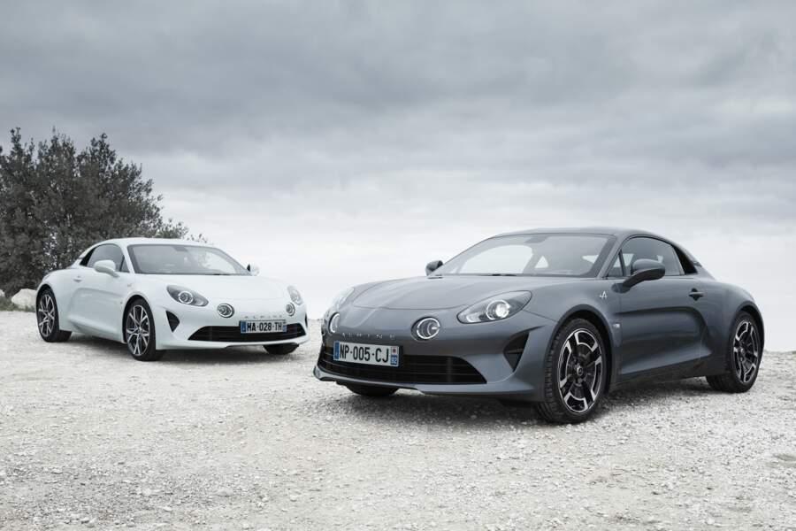 Alpine A110 - Deux nouvelles versions