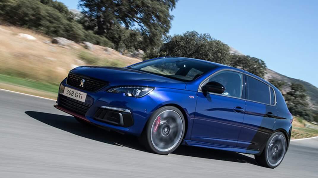 N°8 : Peugeot 308
