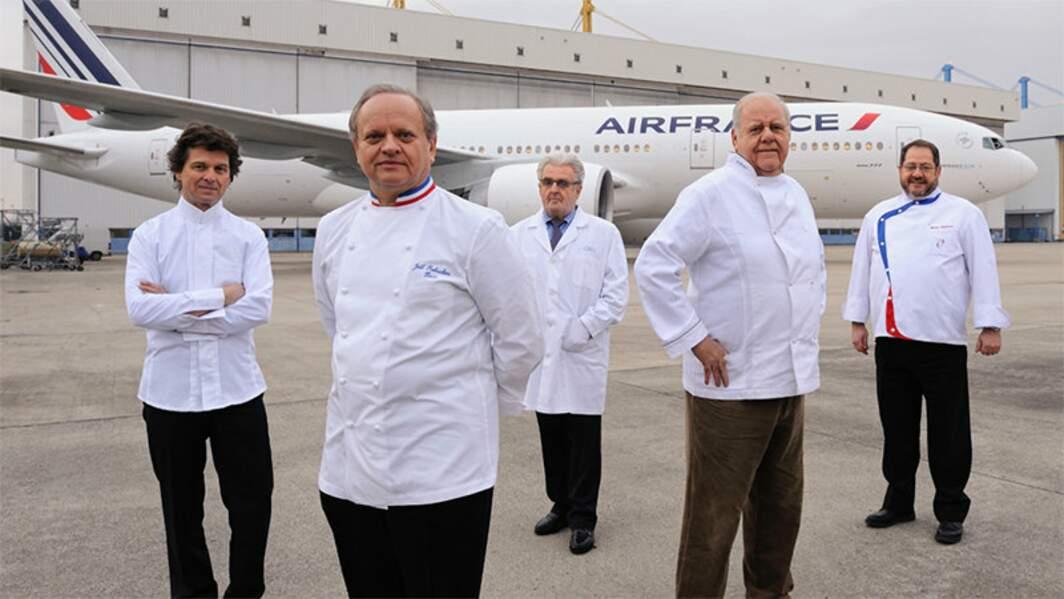 Plusieurs collaborations avec Air France