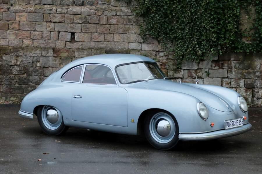 7. Porsche 356 Pre-A 1300 de 1951