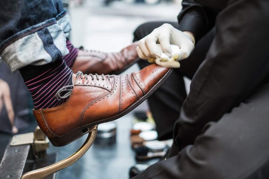 2.Cireur de chaussures, merci Aquilino !