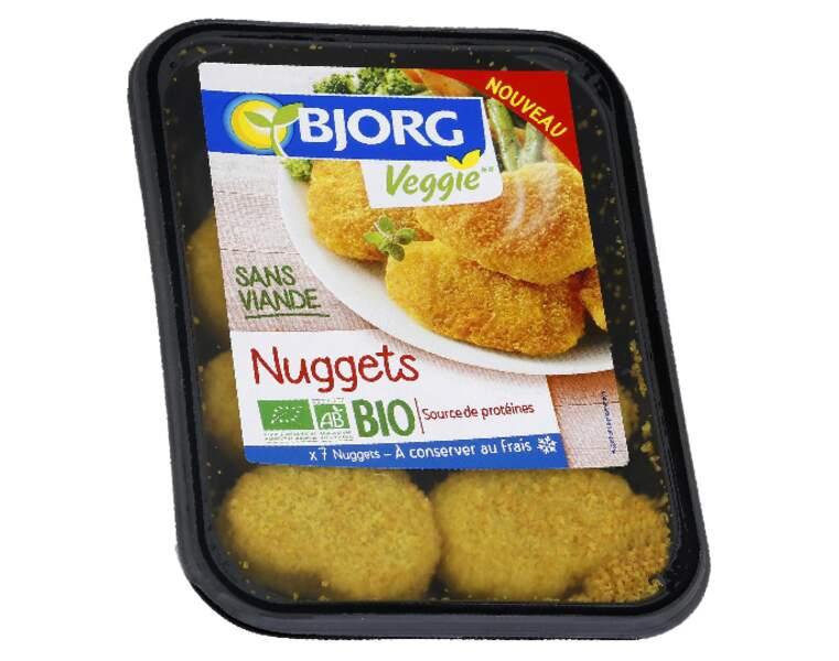 Nuggets bio Bjorg veggie
