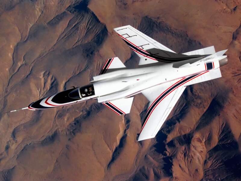 Grumman X-29 : les ailes inversées