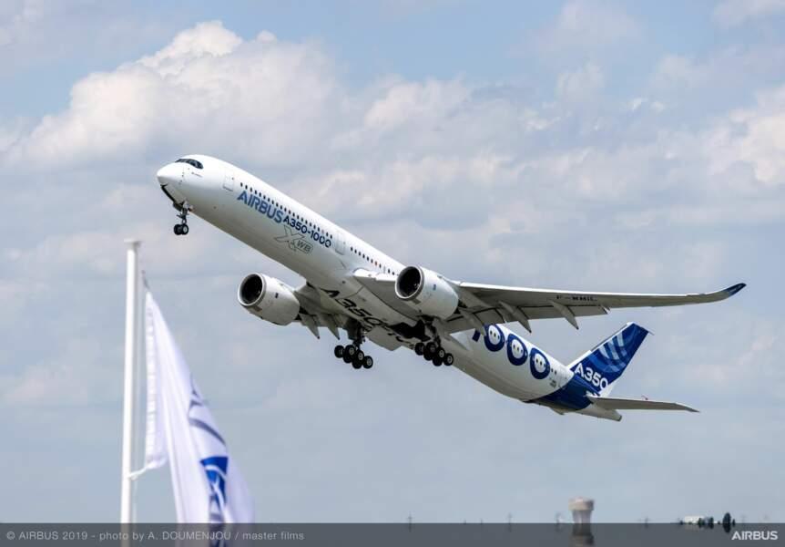 L'A350-1000 d'Airbus