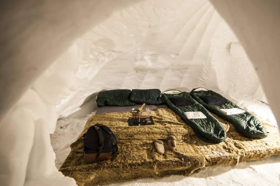 Reposez-vous dans un igloo en Savoie