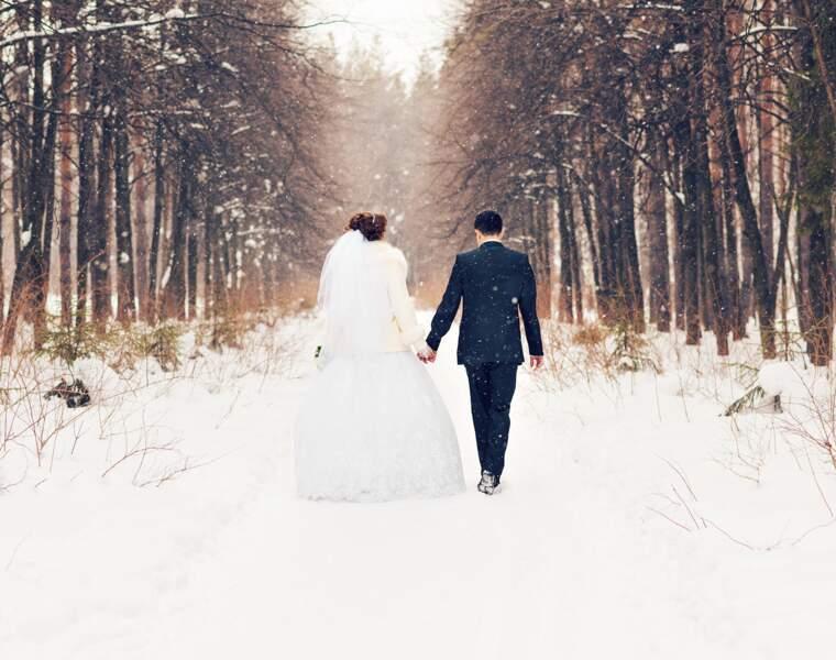 Se marier en hiver ou en semaine