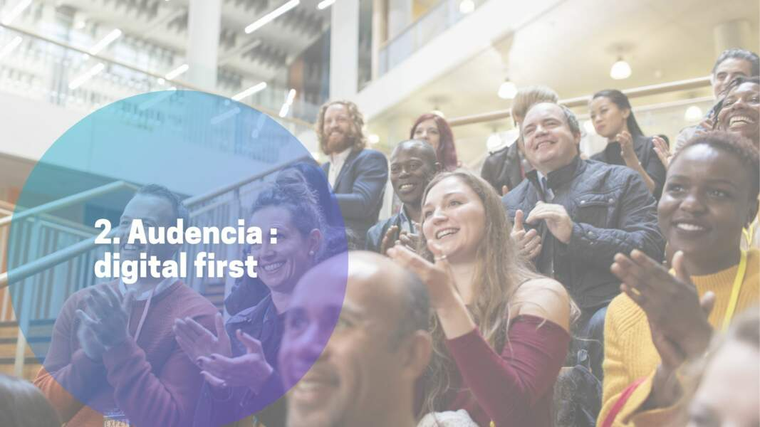 2. Audencia : digital first