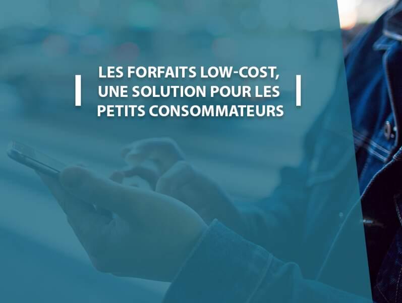 Les forfaits low-cost, une solution pour les petits consommateurs