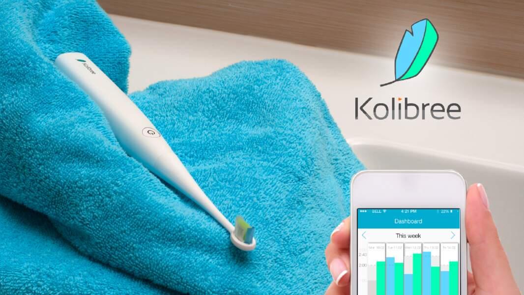 Kolibree, la brosse à dents connectée