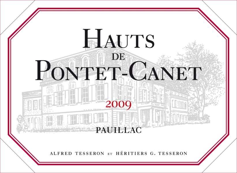 Pauillac (Les Hauts de Pontet-Canet 2009)