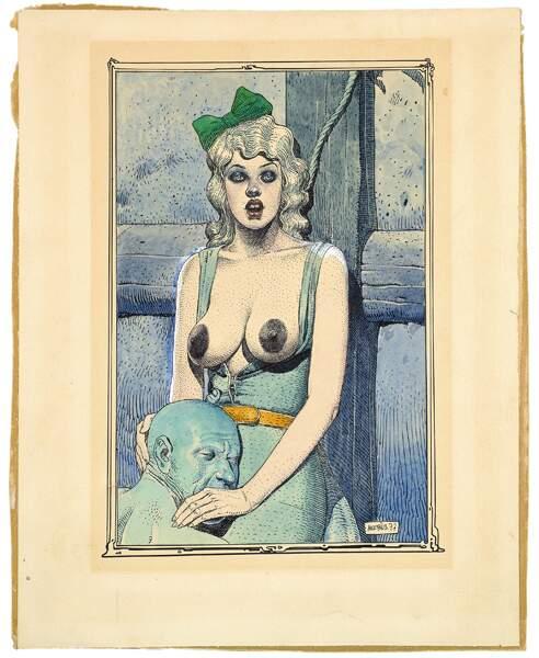 Moebius, couverture de la revue Métal Hurlant