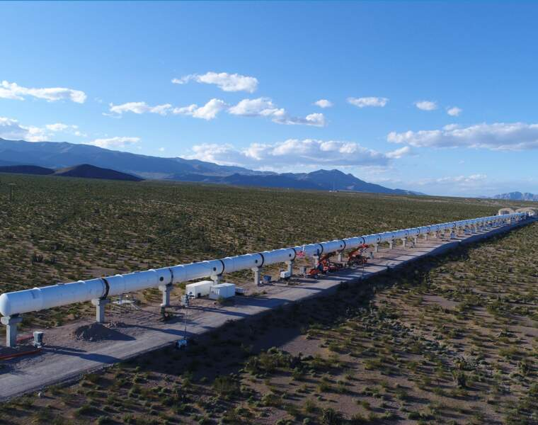 "Hyperloop : des ""trains"" qui circuleront à 1.200 km/h"