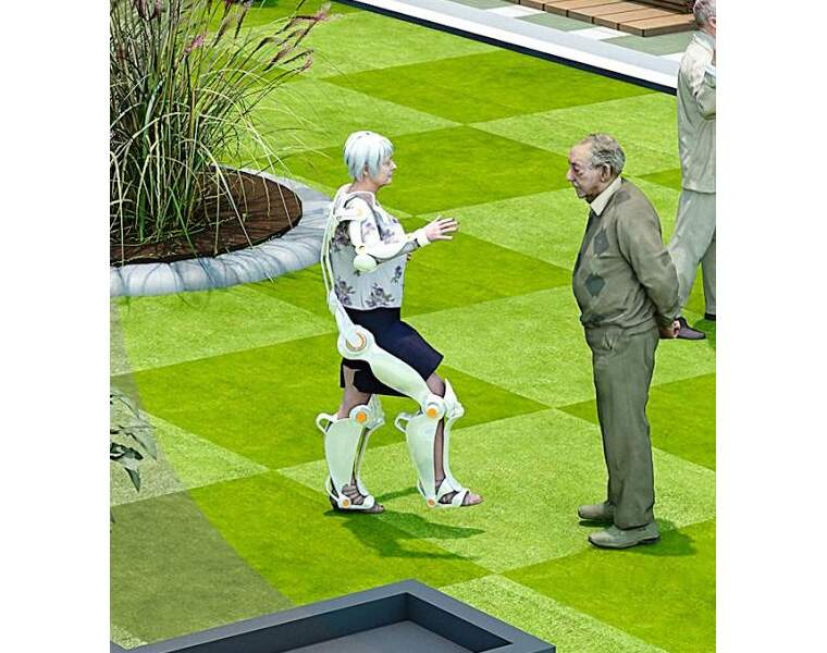 Les exosquelettes accroîtront l'autonomie