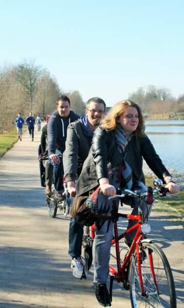 Le Lille du vélo en tandem