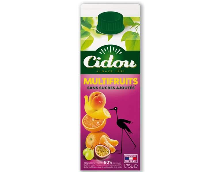 5 - CIDOU Sans sucres ajoutés Multifruits